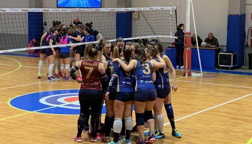 Polisportiva Salerno Guiscards, il team volley strappa un set alla corazzata Molinari Napoli