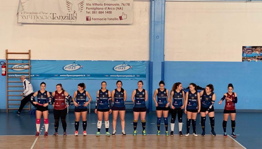 Polisportiva Salerno Guiscards, il team volley in emergenza espugna anche Pomigliano (1-3)