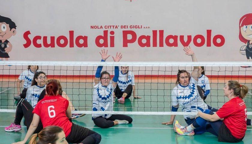 Polisportiva Salerno Guiscards, una domenica all'insegna del Sitting Volley alla Palestra Senatore