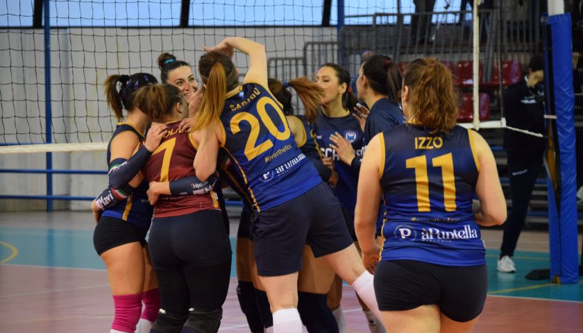 Polisportiva Salerno Guiscards, il team volley torna al successo ed è a un passo dai play off