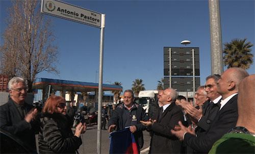 A Salerno una strada intitolata ad Antonio Pastore