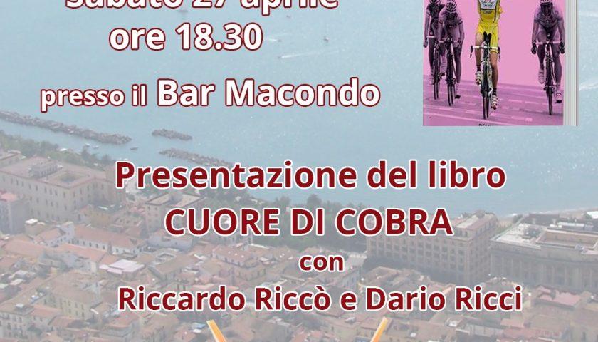 """""""Cuore di cobra. Confessioni di un ciclista pericoloso"""", sabato la presentazione del libro scritto da Riccardo Riccò"""
