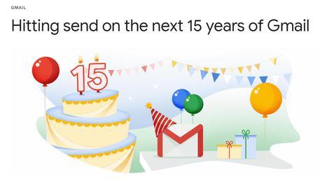 Gmail ha 15 anni, ora fa programmare un'email