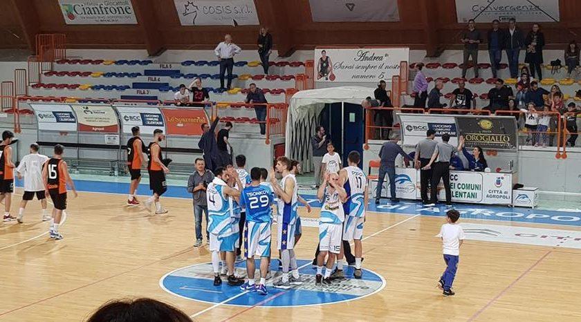 La New Basket Agropoli vince Gara 1 del primo turno playoff
