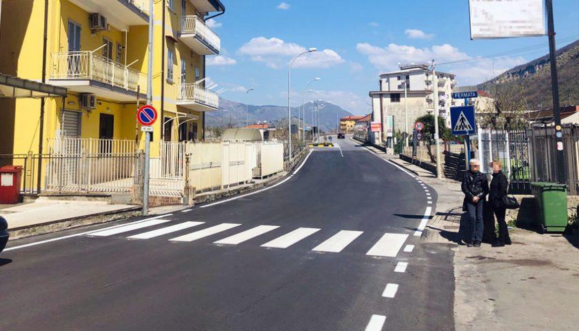 Nocera Superiore: completata riqualificazione in quattro zone della città