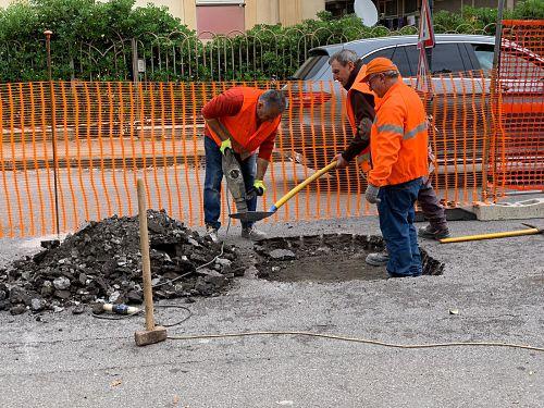 Lavori di Salerno Sistemi a Cappelle Inferiore, strada chiusa al traffico da lunedì al 18 dicembre