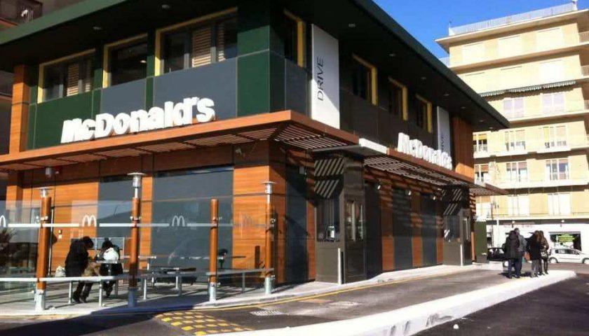 Mc Donald's: a Salerno selezione per 70 persone per apertura nuovi punti vendita