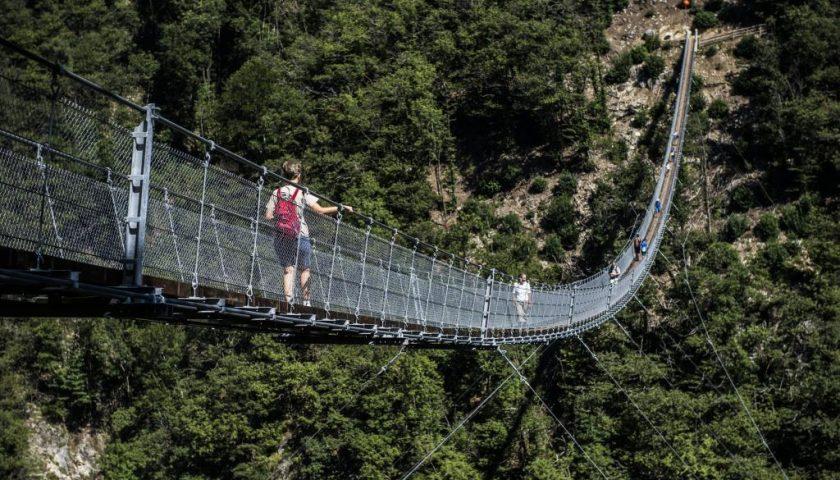 Il parco delle meraviglie: un ponte tibetano collegherà Tortorella e Casaletto