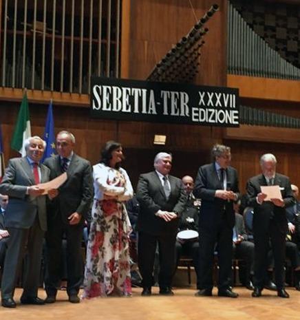 """A Giuseppe Longo il Premio Internazionale """"Sebetia-Ter"""""""
