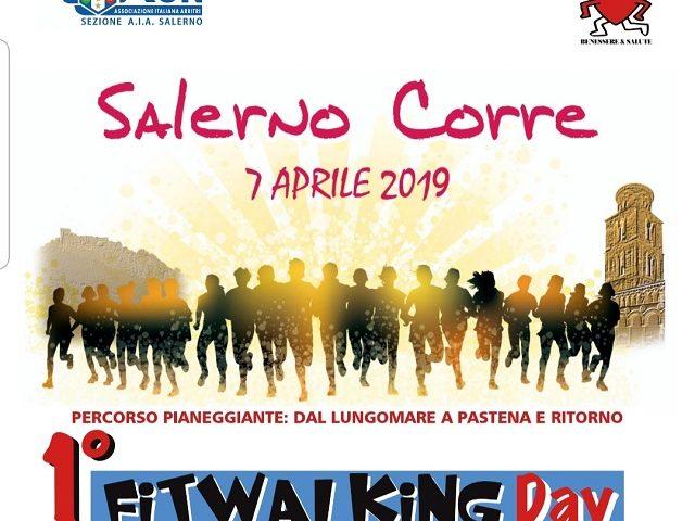 Corriamo e camminiamo insieme: Sesta edizione di Salerno Corre e Primo Fitwalking Day