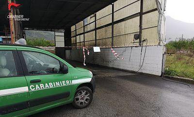 Sequestrato autolavaggio abusivo: gli scarichi finivano in un affluente del fiume Sarno