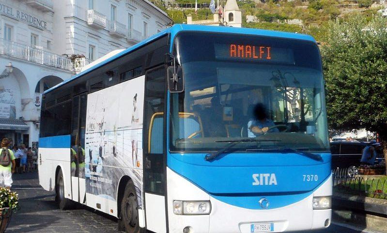 Traffico caos in costiera amalfitana: giovedì 9 maggio sciopero dei lavoratori Sita Sud