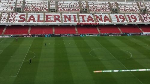 Salernitana – Ascoli, l'Arechi riapre le porte a 700 tifosi