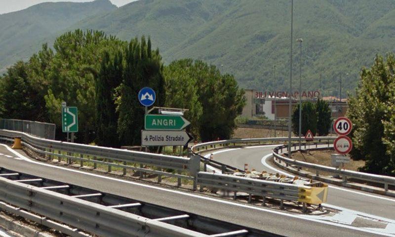 Autostrada A3: stanotte chiuso il tratto Angri – Angri sud verso Salerno
