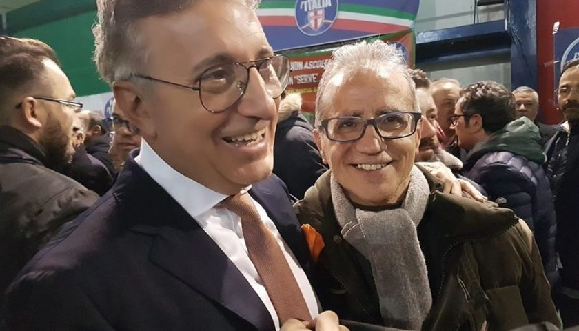 Prim@Pagina. Domenico (Mimmo) Lombardi in campo con Alberico Gambino nella lista Direzione Pagani