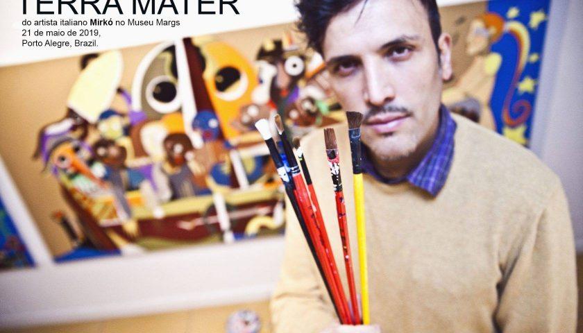 """L'immigrazione italiana in Brasile: con """"Terra Mater"""" l'arte di Mirkò al Museo d'Arte del Rio Grande do Sul di Porto Alegre"""