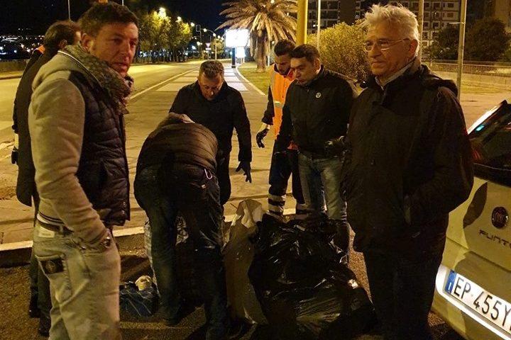 Rifiuti: blitz nella notte della Polizia Municipale di Salerno con sindaco ed assessore