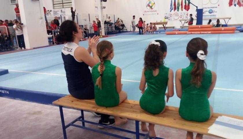 Palazzetto AcquaSport di Salerno: grande successo per i Campionati Nazionali di Ginnastica C.S.A.In.
