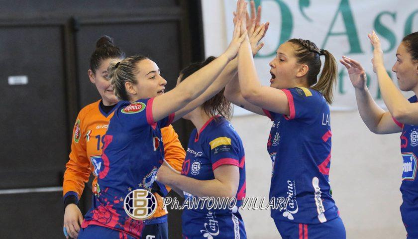 La Jomi Salerno supera Ferrara, in finale Scudetto c'è l'Oderzo