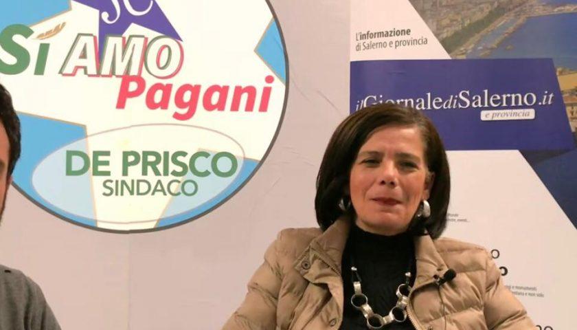"""Prim@Pagina. Annamaria Mosca scende in campo con la civica """"SiAmo Pagani"""" a sostegno di Lello De Prisco sindaco"""