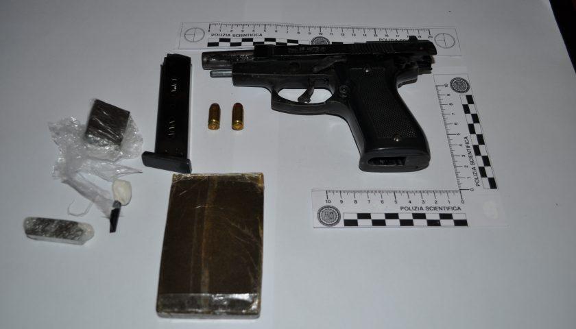 Battipaglia: in manette pregiudicato con arma clandestina e stupefacenti