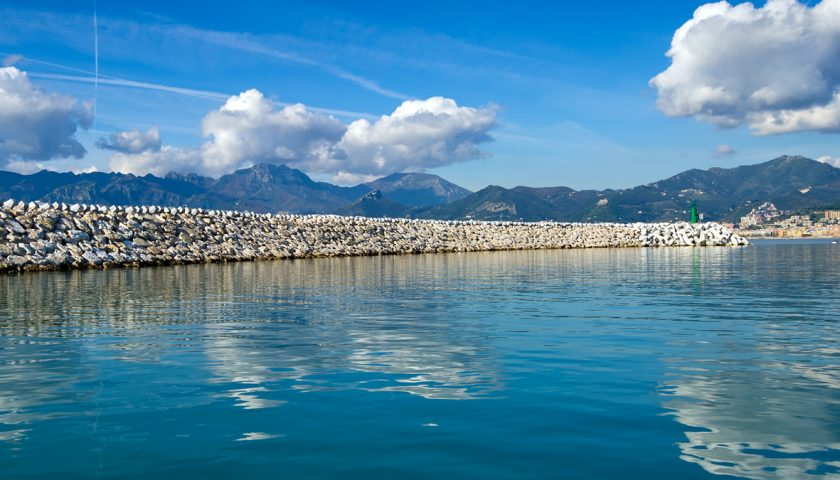 Bandiera Blu per il porto turistico Marina d'Arechi anche nel 2019, l'unica sul litorale della città di Salerno