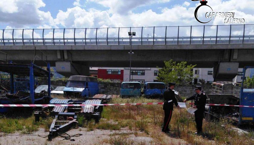 Sala Consilina: sequestrata dai Carabinieri discarica abusiva, denunciato il proprietario del sito
