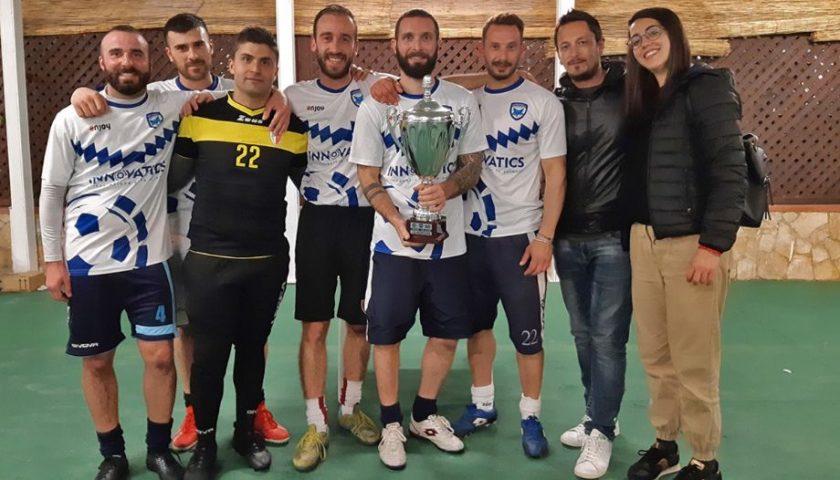 Polisportiva Salerno Guiscards, i foxes conquistano il torneo di calcetto battendo 4-2 il Bar Santa Lucia