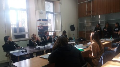 Simulazione di un processo penale al Tribunale di Nocera