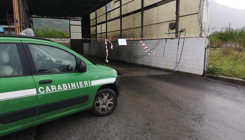 Ambiente: controlli dei Carabinieri per autofficine ed autolavaggi