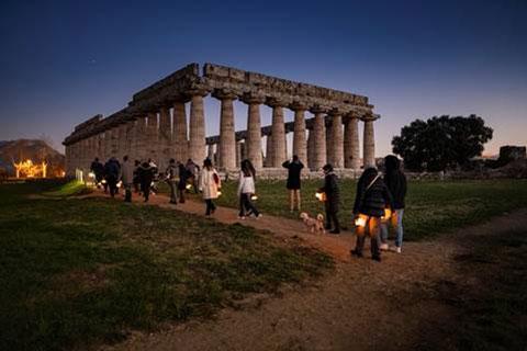 Zuchtriegel: solo 1 Euro in più per entrare tutto l'anno ai templi di Paestum
