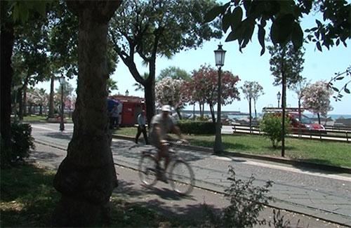 Nuovo progetto per la pista ciclabile di Salerno