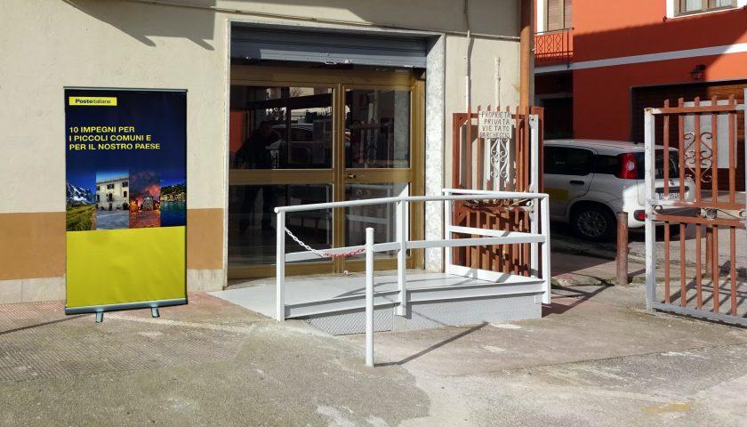 Poste Italiane: abbattute le barriere architettoniche negli uffici postali della provincia di Salerno