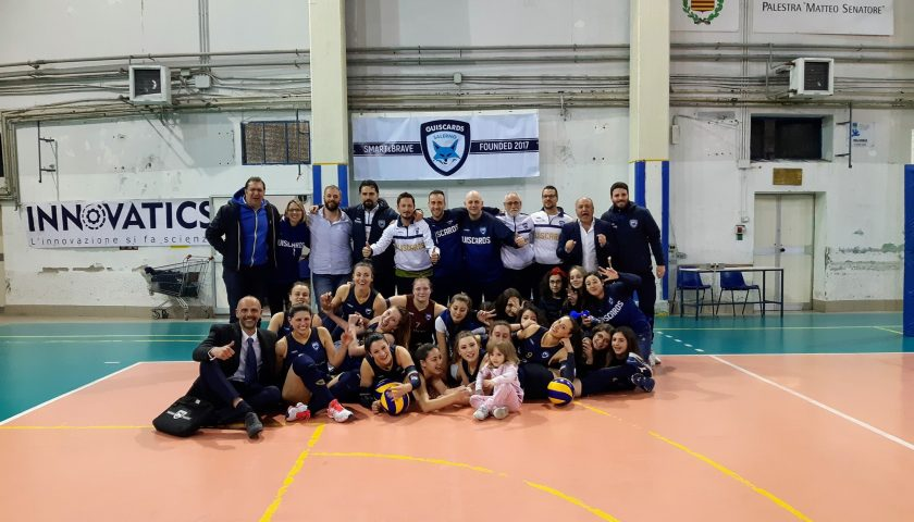Polisportiva Salerno Guiscards, il sogno play off diventa realtà per il team volley