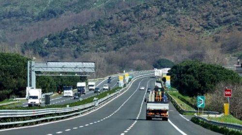 A30 CASERTA-SALERNO: CHIUSA PER UNA NOTTE L'ENTRATA DELLA STAZIONE DI SARNO
