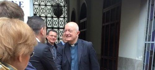 Mercoledì cerimonia di consegna con l'Arcivescovo Bellandi del totem termoscanner di CTI Foodtech donato al Duomo di Salerno