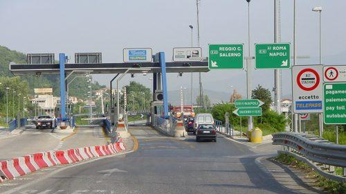 A3 Napoli-Pompei-Salerno: Chiuso per due notti il tratto Cava de' Tirreni – Salerno