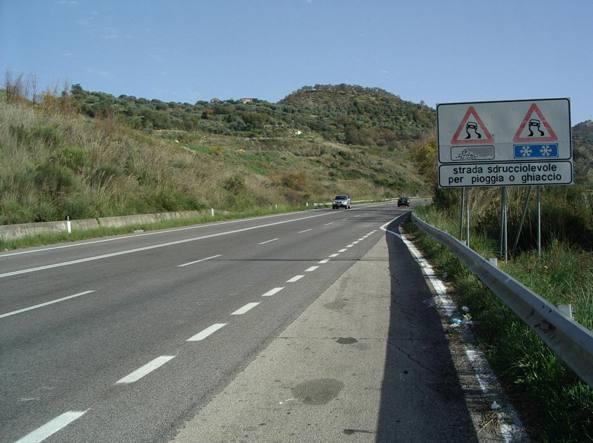 Cilentana: spuntano nuovi limiti di velocità a 50km