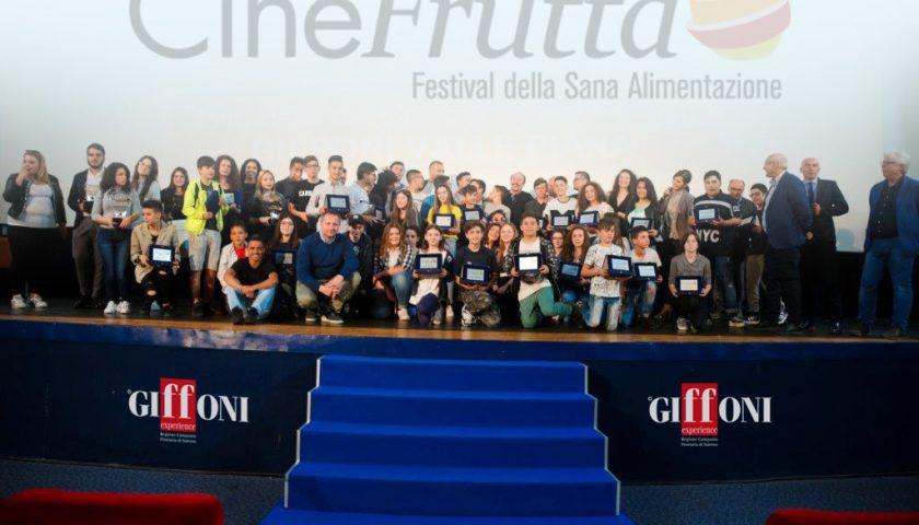 A Giffoni finale di Cinefrutta con Massimo Boldi