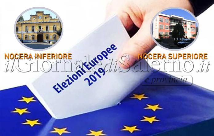 """Elezioni Europee: """"grillini"""" primi nelle due Nocera"""