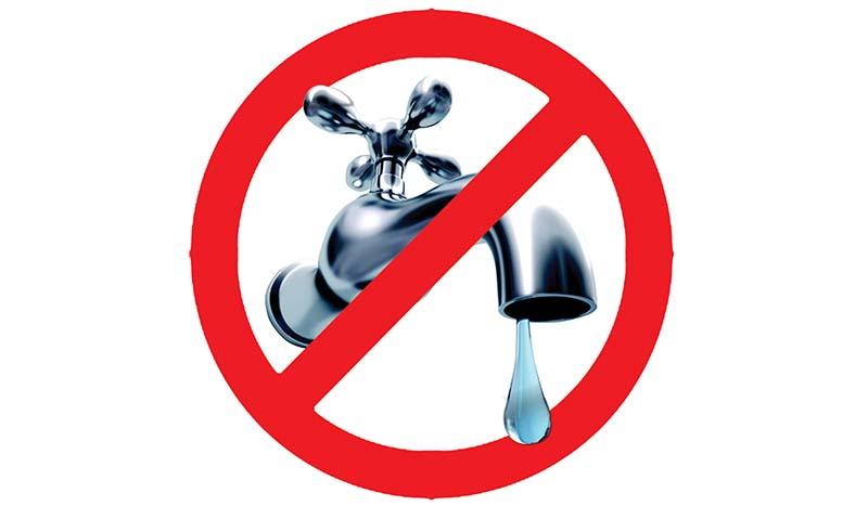 Domani ci sarà una sospensione idrica in alcune zone vicino Cava