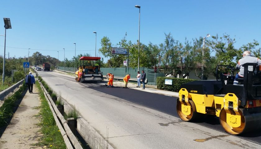 In corso di ultimazione lavori a Santa Marina, Agropoli, Castelnuovo Cilento e San Mauro La Bruca