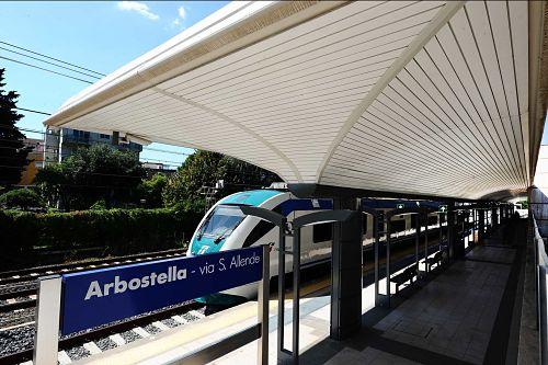 La metropolitana di Salerno fino all'Aeroporto