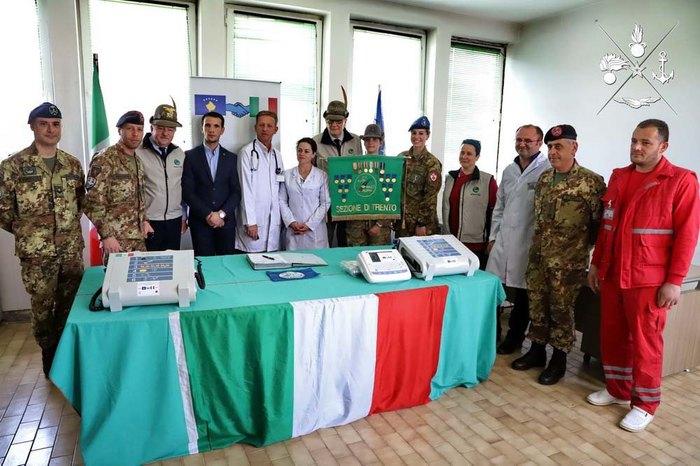 Solidarietà alpina in Kosovo con il Rgt. Pasubio di Persano