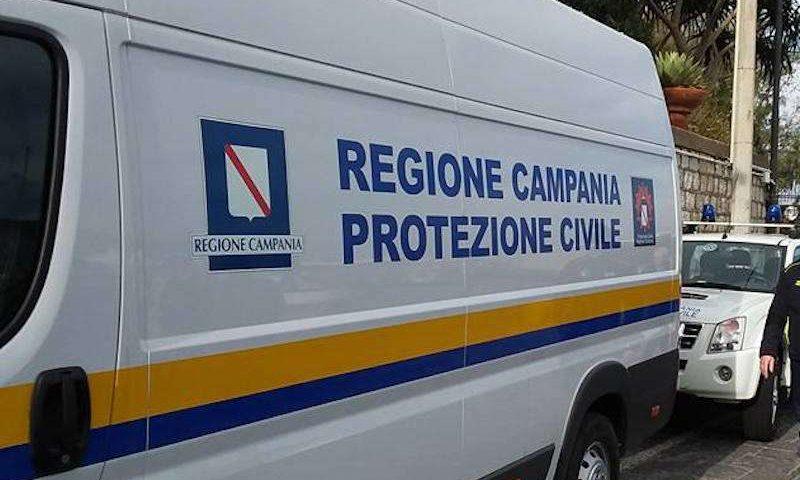 Protezione Civile, dalla Regione Campania 4,8 milioni di euro per 134 comuni