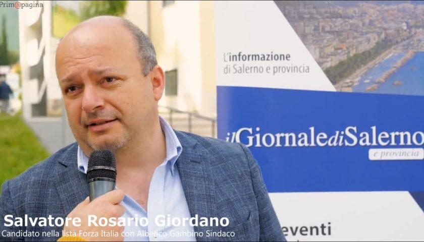 Prim@Pagina. Salvatore Rosario Giordano scende in campo nella lista Forza Italia con Gambino Sindaco