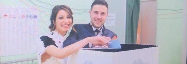 Sala Consilina: il sì, il voto in abito da sposa e poi la festa del matrimonio