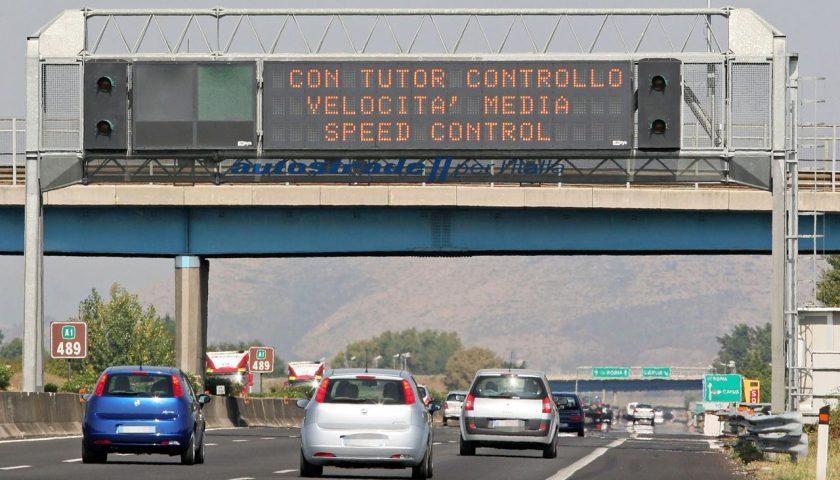 Autostrada A16: mercoledì notte chiuso l'allacciamento con la A30 Caserta-Salerno, verso Caserta e in direzione di Salerno