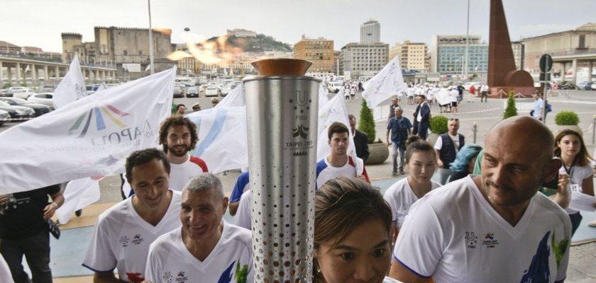 Dall'Irpinia al Sannio, domani la torcia dell'Universiade arriva a Benevento