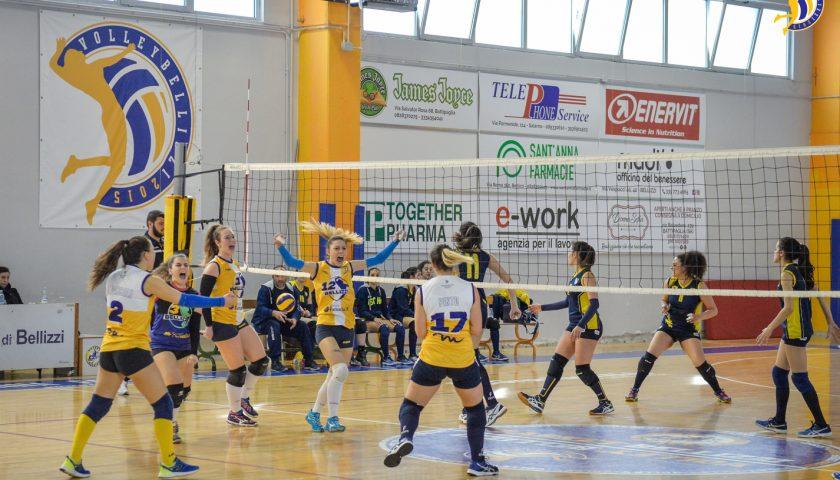 Volley Bellizzi inaugura la serie Play-Off con un successo: battuta Ischia